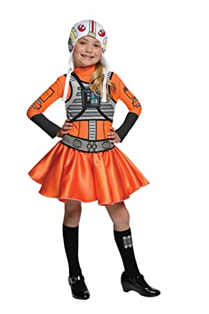 X-Wing Pilot Costume for Girls