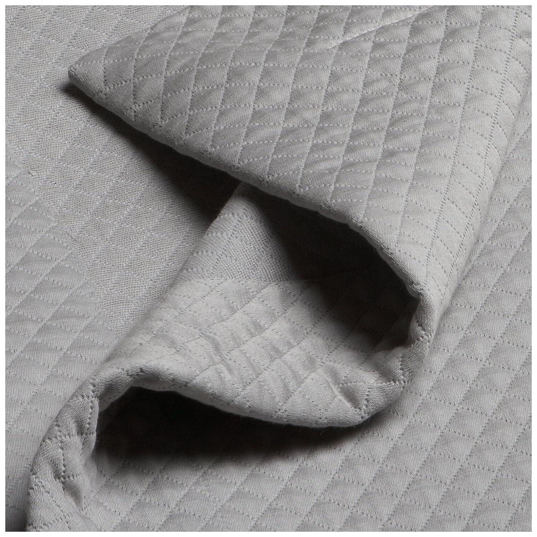 Gray coverlet full : Pinzon bedding diamond matelasse full queen