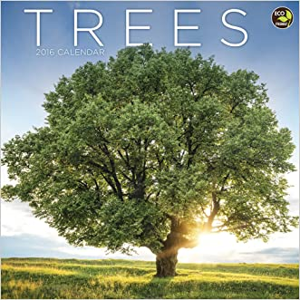 2016 Trees Wall Calendar