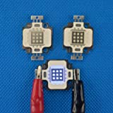 10Pcs 10W 450~465nm Royal Blue 9-12V DC Grow Plant Aquarium light high power led chip