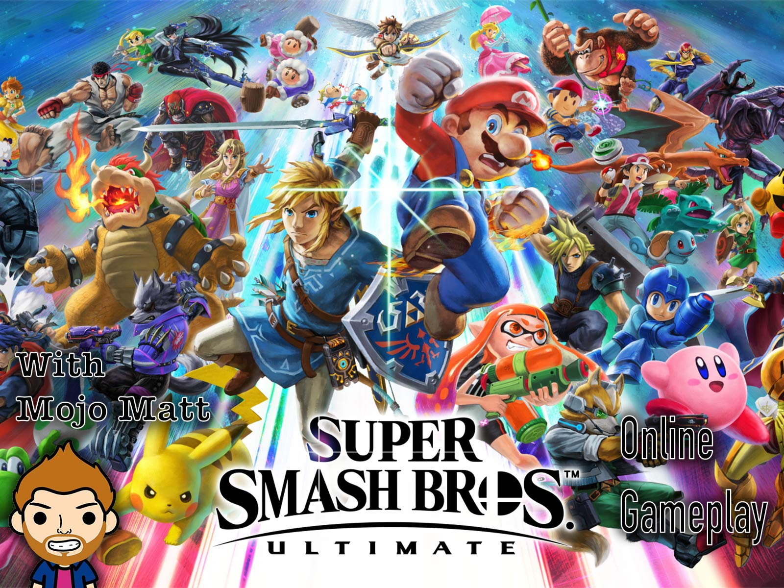 Super Smash Bros. Ultimate Online Gameplay With Mojo Matt on Amazon Prime Video UK