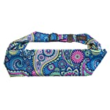 BANDI Kids Pocket Belt for Medical, Sports, Play, Comfortable Adjustable Fit (Paisley Punch) (Color: Paisley Punch)