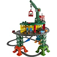 Fisher-Price Thomas & Friends Super Station Trackset Playset + 2-Pack Spalding Inflating Needles