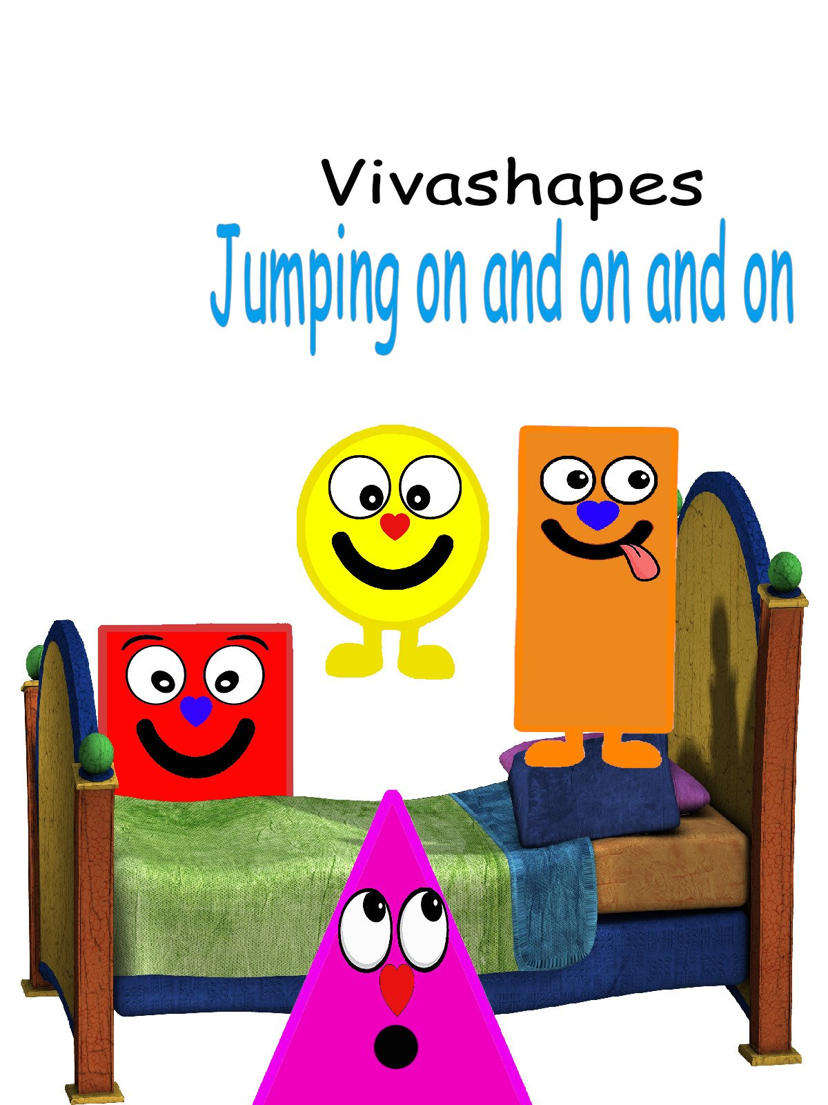 Vivashapes Jumping on and on and on.