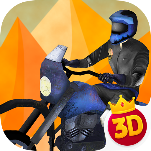 Mad Desert Rider - Speed Road Survival 3D Pro