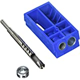 Kreg KPCS Custom Pocket-Hole Plug Cutter (Color: Blue)
