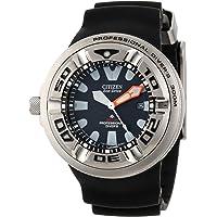 Citizen BJ8050-08E Eco-Drive Professional Diver Men's Sport Watch (Black)