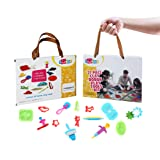 Ludos 37 Piece Play Dough Tools Set- Including Playdough Playset Accessories, Dinosaur, Food & Animal Molds, Cookie Cutters, Rolling Pins. Tool Kit with Many Models. Mini Party Pack for Kids (Color: 37 Piece Playdough Tool Set)