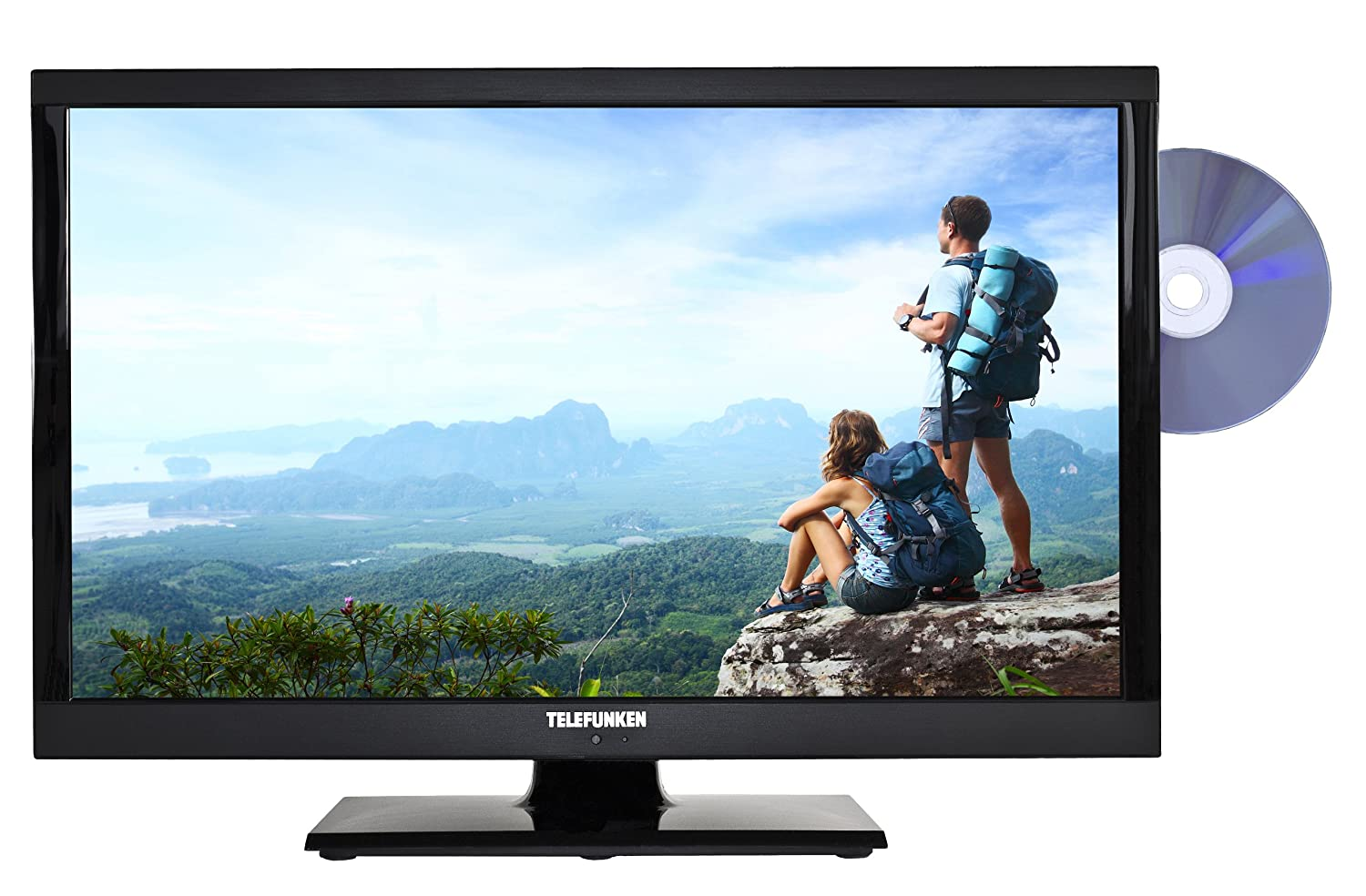 telefunken l24h185i3 lcd led fernseher tv dvd 24 zoll 61 cm hd dvb t c s2 ci ebay. Black Bedroom Furniture Sets. Home Design Ideas