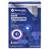 Hair Regrowth Treatment For Men 4 Month Supply Foam Minoxidil 5% Foam (2.11 oz, 4 ct.)