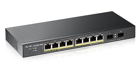 Zyxel GS1900-10HP-EU0101F Commutateur 8 Ports