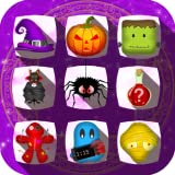 Halloween Drops - Match three puzzle