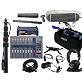 Zoom F8 Recorder & Sennheiser MKH416 Shotgun Mic Bundle with Zoom F-Control Mixing Surface, K-Tek Boompole, Orca Mixer Bag, Rode Blimp Windshield Kit, Sony MDR7506 Headphones & XLR Cable
