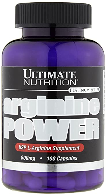 Ultimate Nutrition Arginine Power 100 Kapseln, 1er Pack (1 x 80 g)