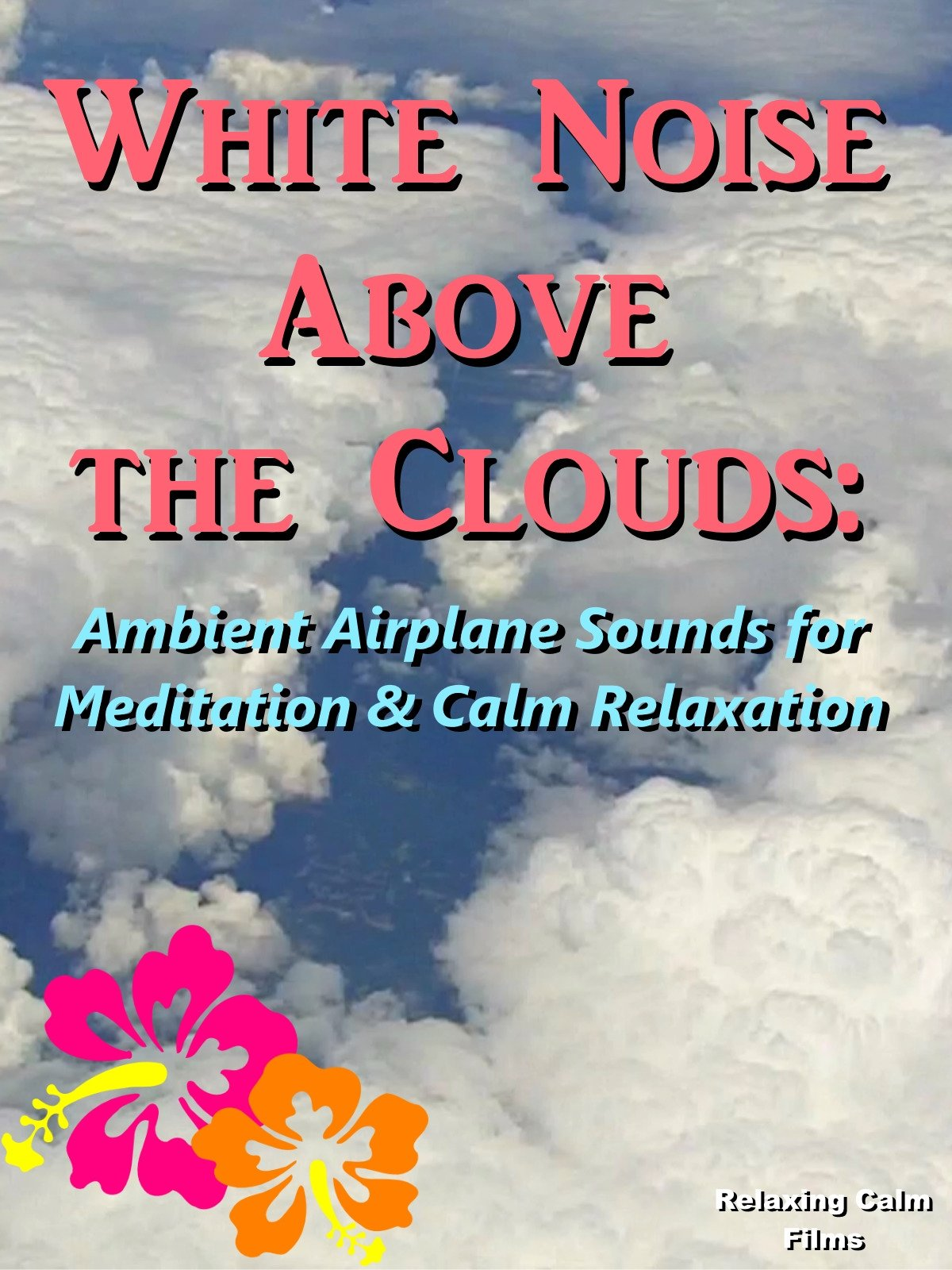 White Noise Above the Clouds: Ambient Airplane Sounds for Meditation & Calm Relaxation
