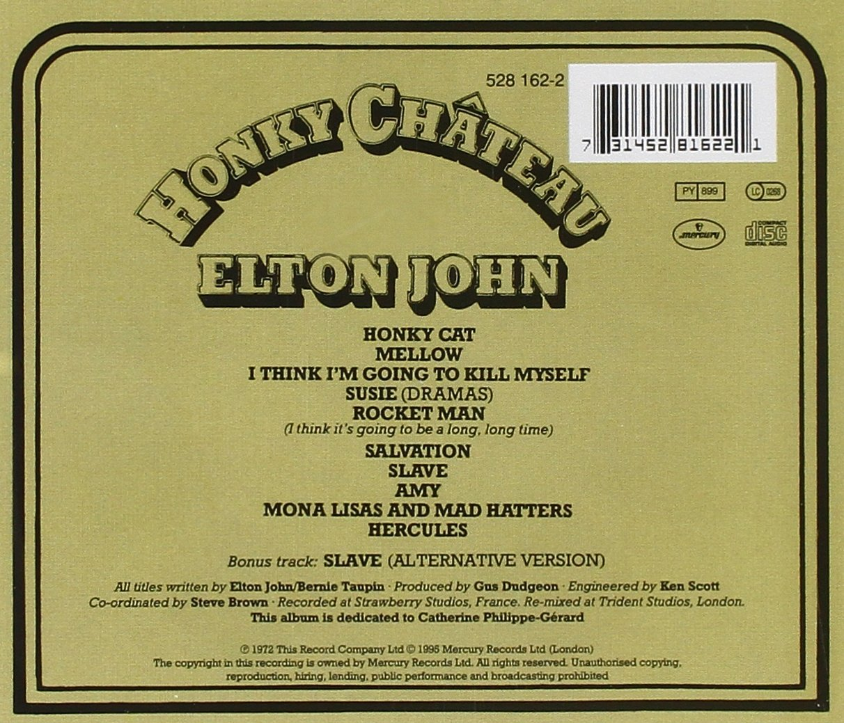 Buy Honky Chateau Online At Low Prices In India  Amazon Music Store   Amazon