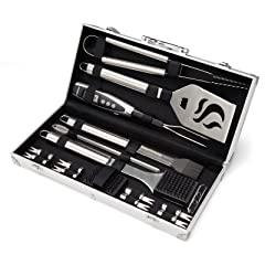 Cuisinart CGS-5020 Deluxe Grill Set, Silver (20-Piece)