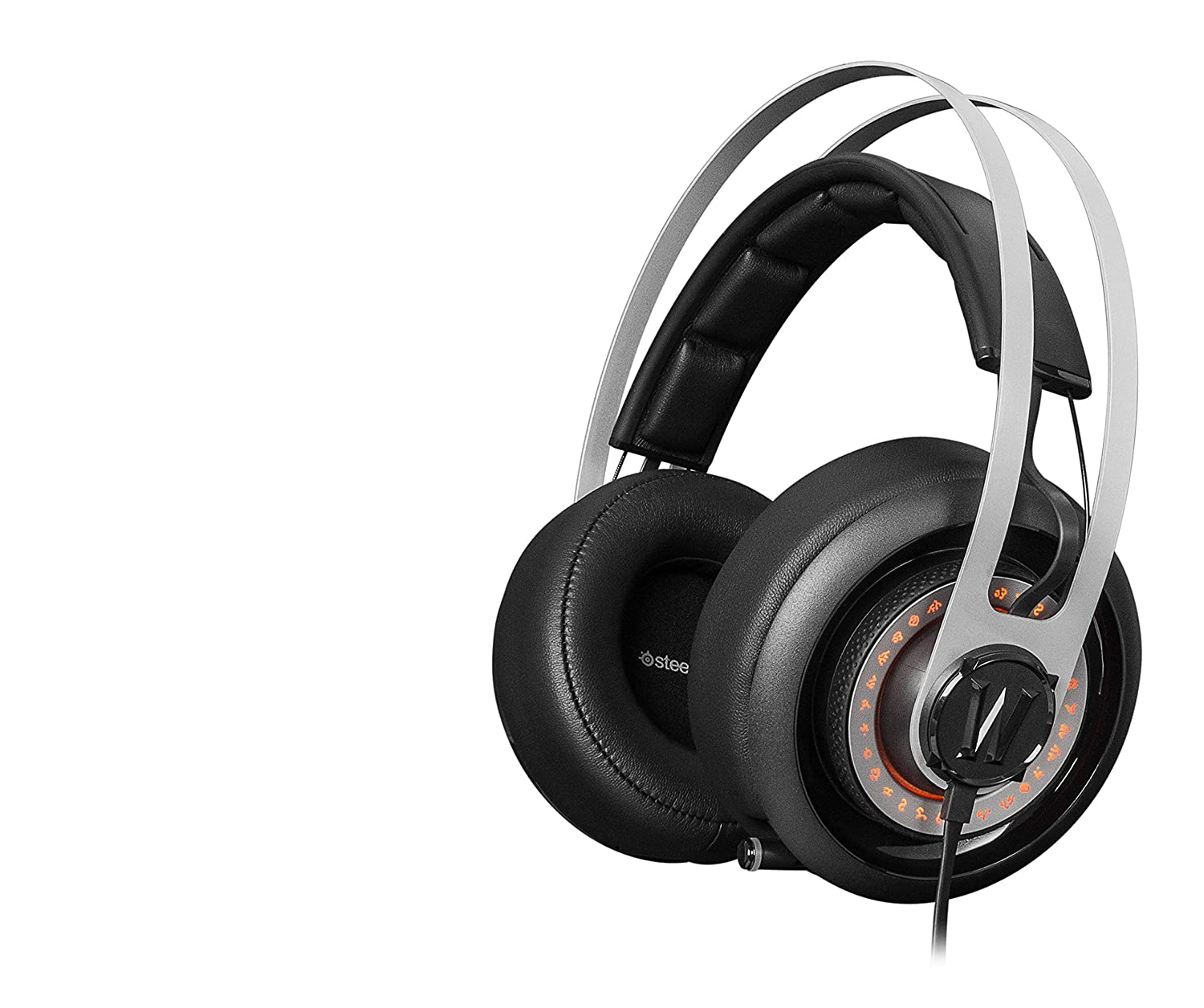 Steelseries Siberia Elite World Of Warcraft 840 Wireless Bluetooth The Headsets Ear Cups Feature Passive Noise Isolated Cushions And Are Highlighted By Illuminated Rune Circles Customize With 168 Million Colors