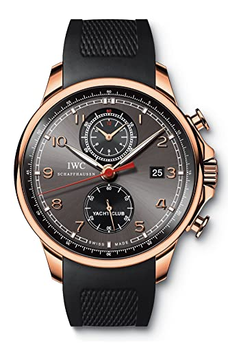 IWC Portuguese Yacht Club Chronograph Mechanical Mens Watch IW390209