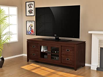 Z-Line Designs Tenley TV Console, Brown