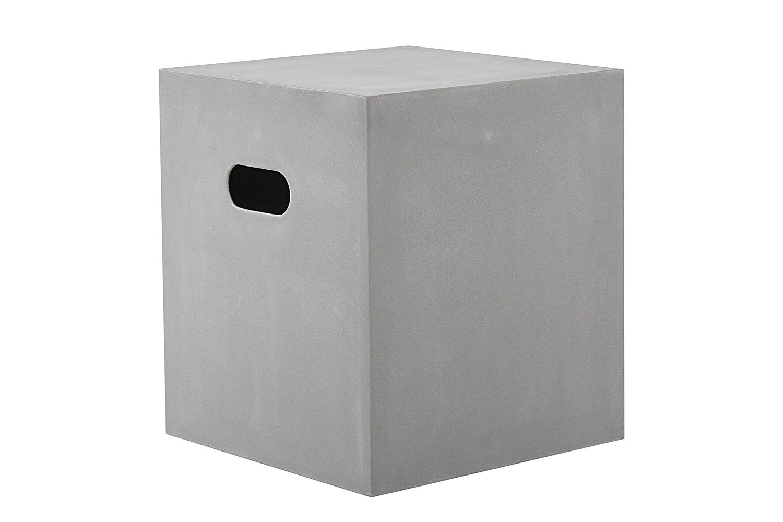 Cube Sitzwürfel aus Fiberstone in moderner Betonoptik Gartensessel Gartenmöbel günstig bestellen
