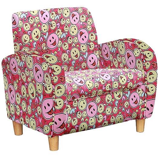 Shankar Charlie entrega gratuita con cara sonriente tela sillón para niños