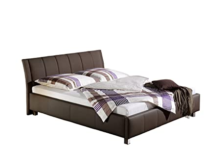 Maintal Betten 234050-4716 Polsterbett Sina 140 x 200 cm, braun