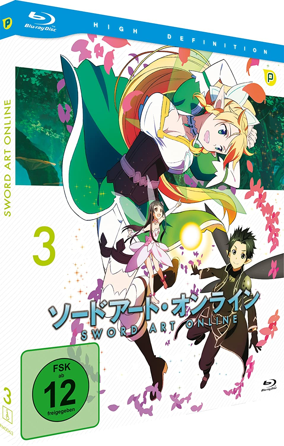 Sword Art Online, Volume 3 (Blu-ray)