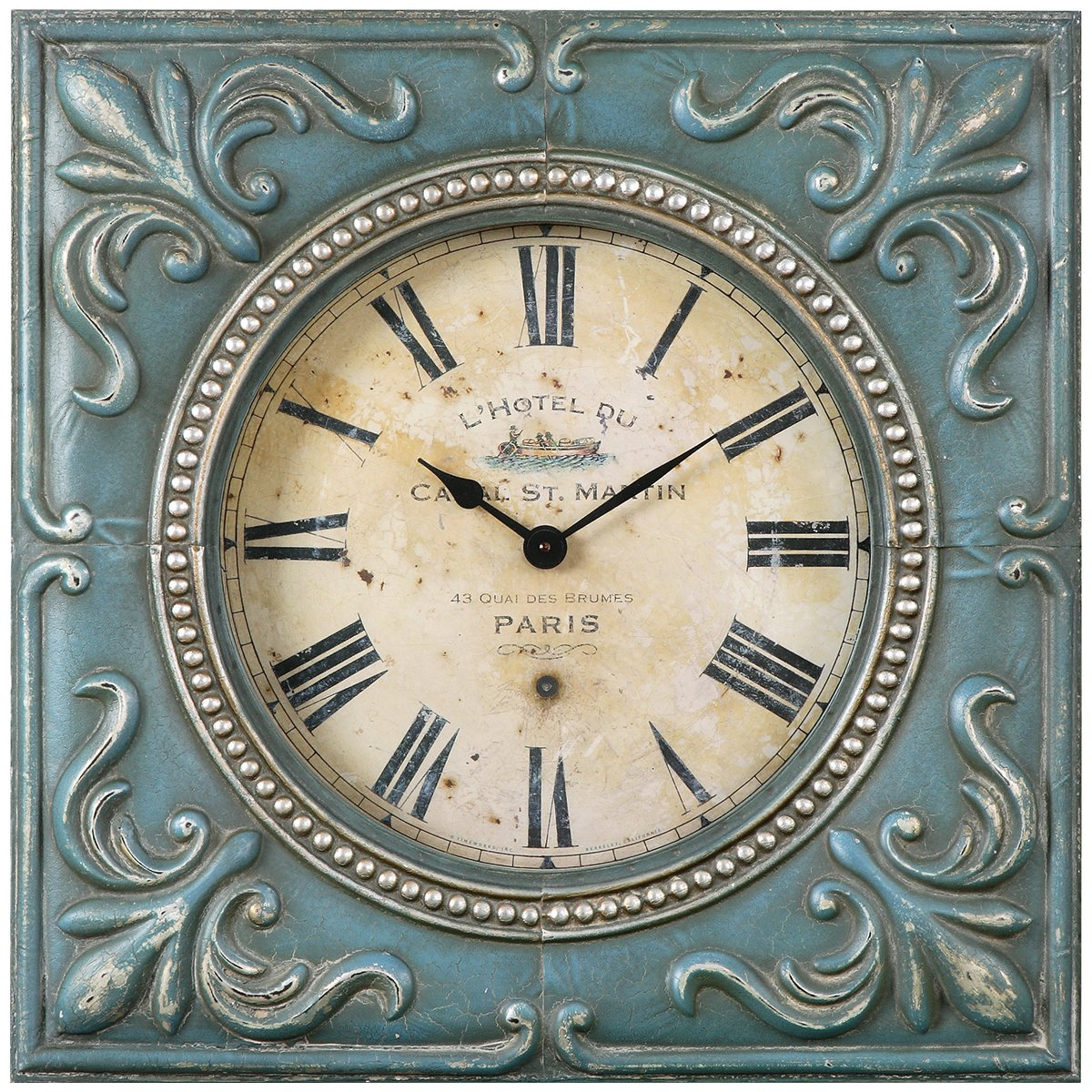 9 large decorative wall clocks to check time in style uniq home square wall clock amipublicfo Images