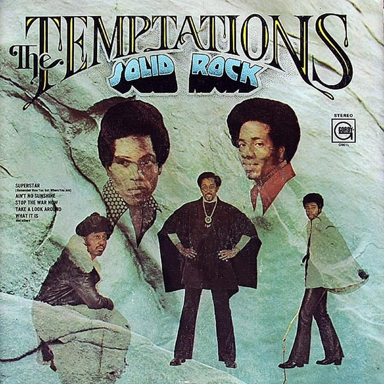 Temptations Solid Rock Records Lps Vinyl And Cds