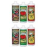 FOXFARM FX14049 Hydro Nutrient Trio Tiger Bloom Grow 6 Qts Liquid Plant Grow --P#EWT43 65234R3FA683320
