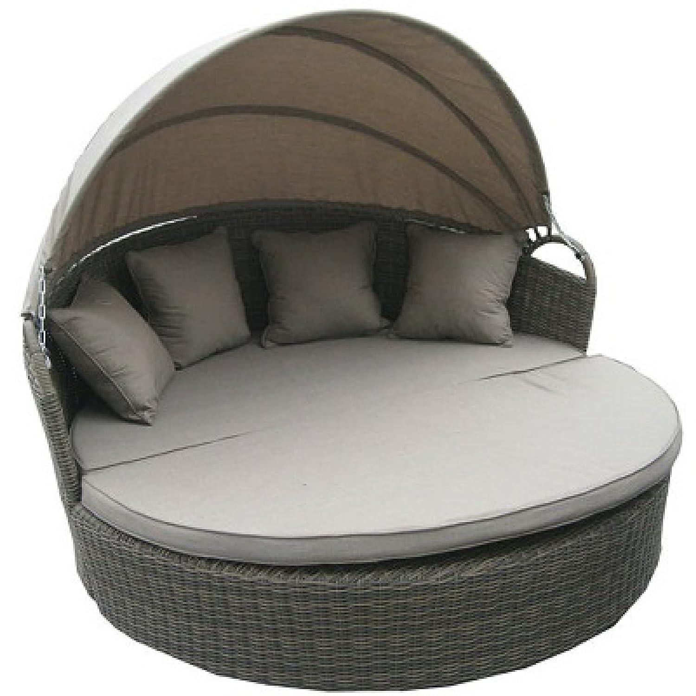Hartman Sonneninsel Summerland Lounge Bed Sonnenliege grau 65230706 online kaufen
