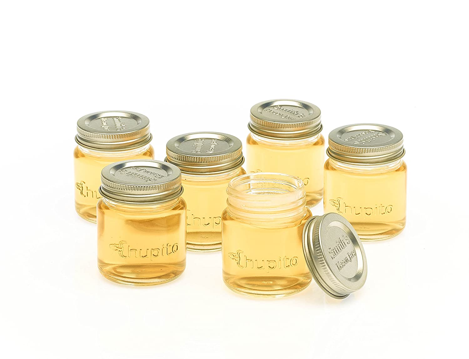 Miniature Mason Jar Shot Glasses With Lids