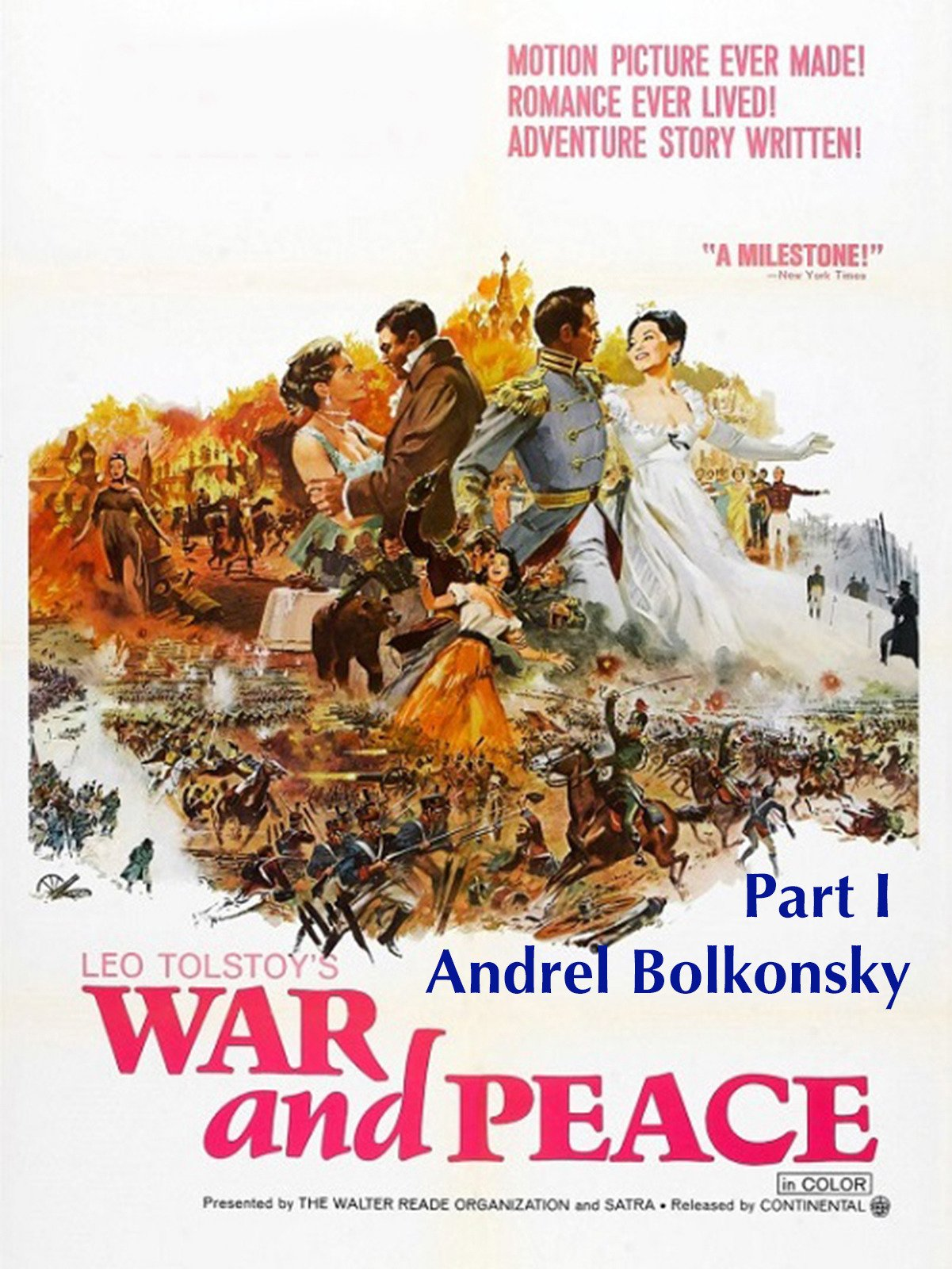 War and Peace: Part I Andrel Bolkonsky on Amazon Prime Video UK