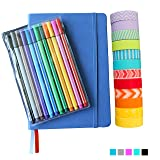 Bullet Journal Set – Includes Navy Hardcover A5 5.7