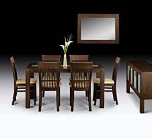 Julian Bowen Santiago Dining Table, Dark Wood       review and more news