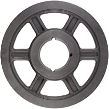 Martin Hi-Cap TB Sheave, 3V Belt Section, 2 Grooves, Class 30 Gray Cast Iron