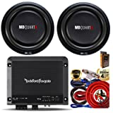 Rockford Fosgate R500X1D Prime 1-Channel Class D Amplifer + (2) MB Quart MS1-304 600W 12