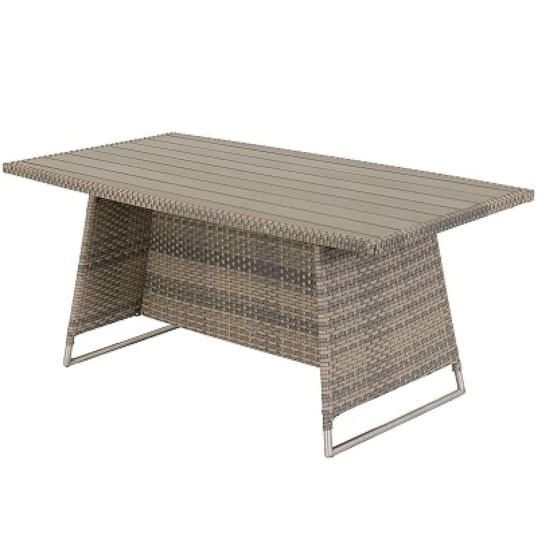Hartman Montego Tisch 160 x 90 cm taupe/Polywood 72263033