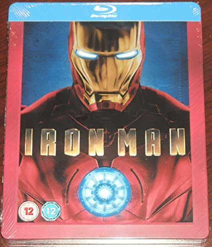 IRON MAN 3 STEELBOOK BLURAY