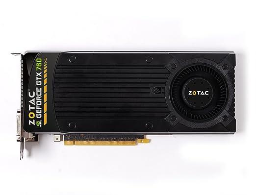 Zotac MSI N760 TF 2GD5/OCTF 2GD5/OC Carte graphique NVIDIA GeForce GTX760 1085 MHz 2048 Mo PCI Express