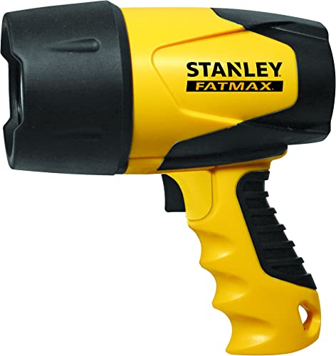 2-Pk. Stanley Waterproof Rechargeable Spotlight