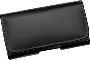 Funda cinturón horizontal de piel, con cierre magnético, Samsung Galaxy S5 MINI / Galaxy SM-G800F - Línea Premium de AQ Mobile - Electrónica - Revisión del cliente y la descripción más