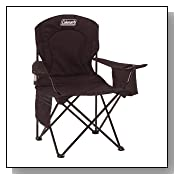 Coleman Oversized Camping Quad Chair with Cooler