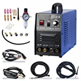 TIG/ MMA Air Plasma Cutter - Tosense CT312 3 in 1 Combo Welding Machine,120A TIG/ MMA , 30A ARC Plasma Cutter Dual Voltage 220V/110V