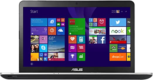 Asus N751JX-T4039H Notebok