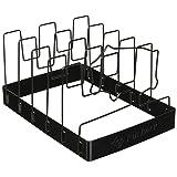 Charcoal Companion SpaceSaver Non-Stick Rib Grilling Rack