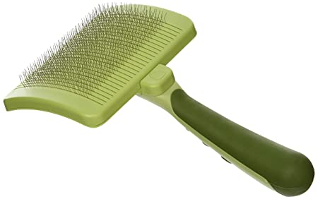 Self-Cleaning Slicker Brush for Dogs
