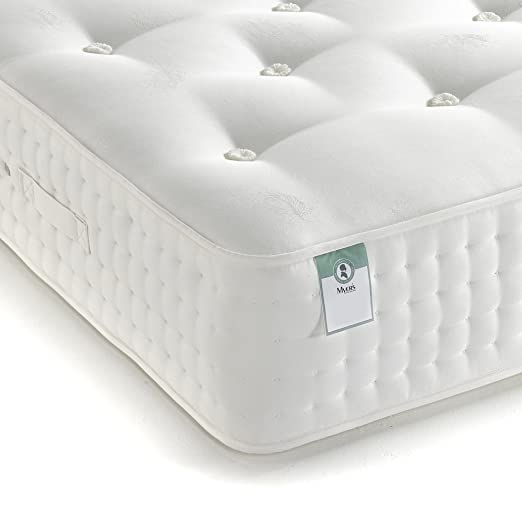 Myers Natural Cashmere 2000 Mattress - Small Double, White