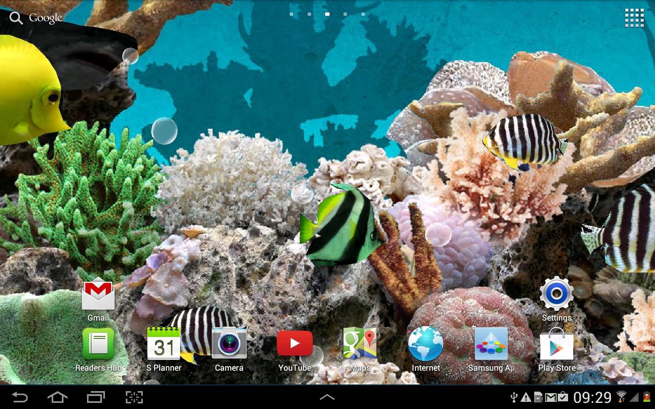 3d Aquarium Live Wallpaper Appstore For Android